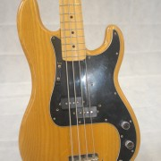 Fender Precision Bass 1975 Natural Maple Neck 02