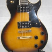 Gibson Les Paul Custom 1978 Tobacco Sunburst 03