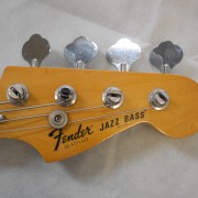 Fender Jazz Bass 1977 Black Maple Neck 03