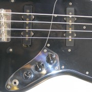 Fender Jazz Bass 1977 Black Maple Neck 10
