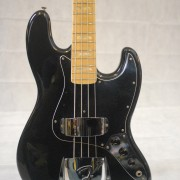 Fender Jazz Bass 1977 Black Maple Neck 13